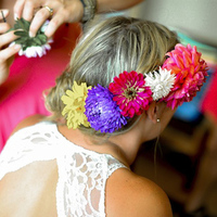Bright Hair Flowers