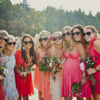 Bright Bridesmaids