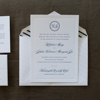 Striped Invites