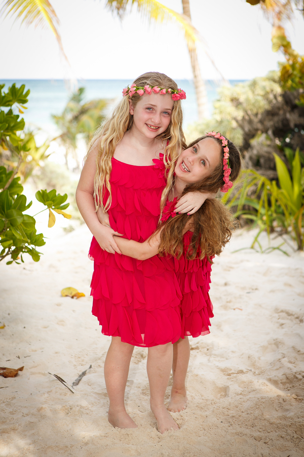 Flower Girls in Pink