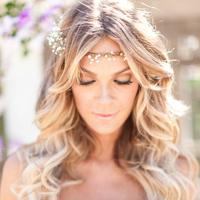 Fantastic Wavy Hair Wedding Photos Project Wedding Hairstyles For Women Draintrainus
