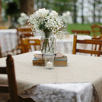 Vintage-Inspired Centerpieces