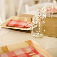 Gingham and Burlap