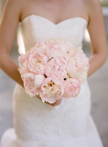 Light Pink Peony Bouquet