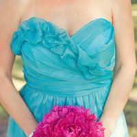 Fuchsia Peony Bouquet