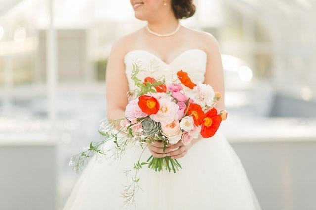 Poppy Bride Bouquet