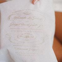 Handkerchief Wedding Invitation