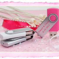 Flash Drive Wedding Favor