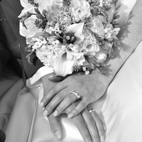 Photography, white, Bride, Flowers, Roses, Bouquet, Groom, Rings, Lilies, Destination, Lace, Dahlias, Freesia