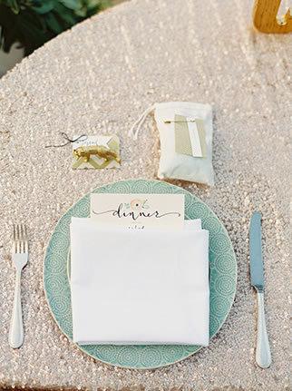 Glam Wedding Decor