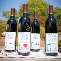 Anniversary Wine Bottles