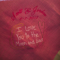 Embroidered Message