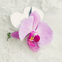 Orchid Boutonniere