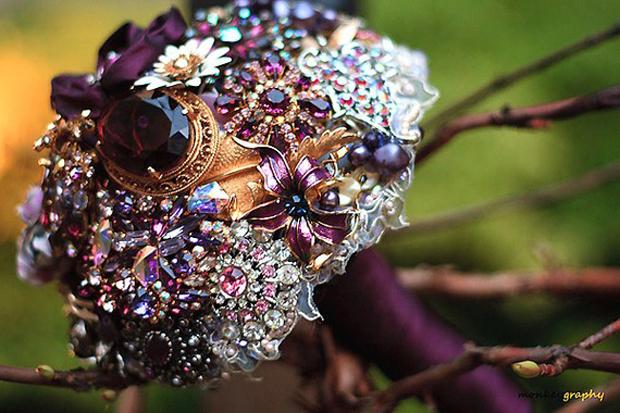 ТОП-10 самых необычных свадебных букетов (фото) .