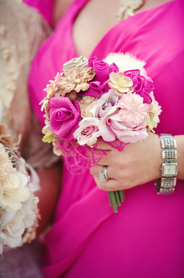 Unique Bridesmaid Bouquets