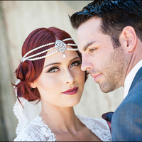 Gatsby Glam Bridal Shoot