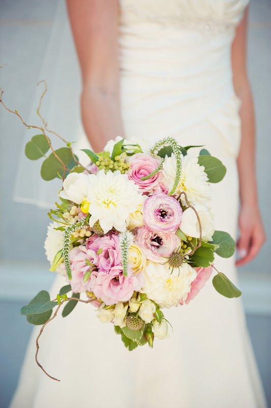 Garden Wedding Bouquet