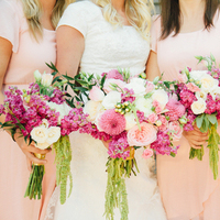 Garden Wedding Bouquets