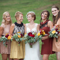 Fall Bridesmaids