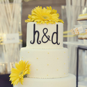1379511808 thumb photo preview bright yellow california backyard wedding 7