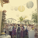 1379511810 thumb photo preview bright yellow california backyard wedding 1