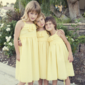 1379511811 thumb photo preview bright yellow california backyard wedding 10