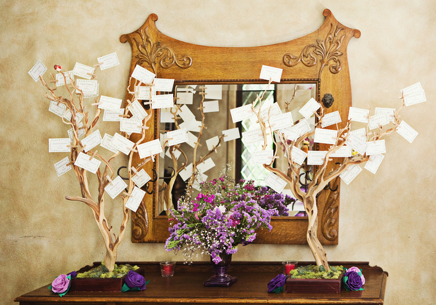 Escort Card Trees