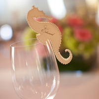 Seahorse Place Card