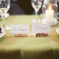 DIY Wooden Place Card Holders