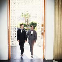Entrance as Newlyweds!