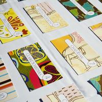 Colorful Artistic Escort Cards