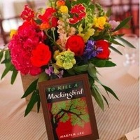 Book-Themed Centerpieces