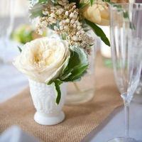 Wintry Centerpieces