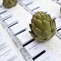 Artichokes and Escort Cards