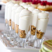 Whipped Cream Granola Shooters