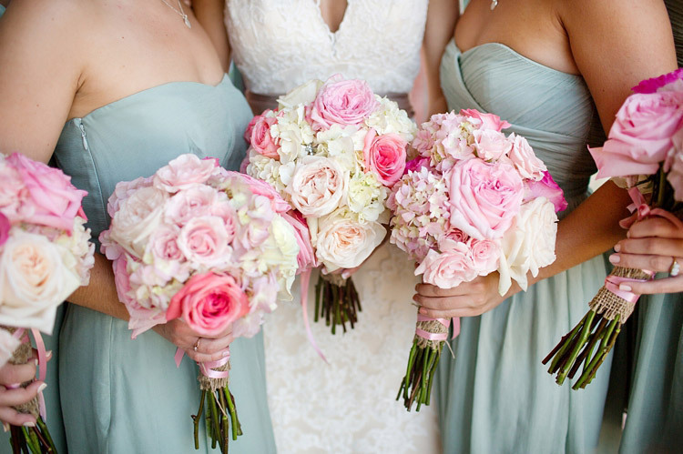 Pink Bouquets