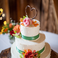 Playful Wedding Cake