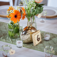 Fall Reception Decor
