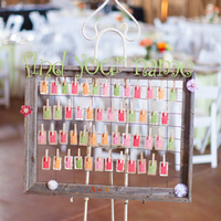 Playful Escort Card Display
