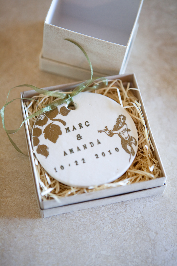 Ornament Wedding Favor