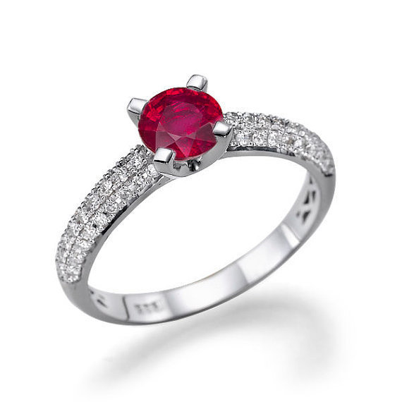 Rubi Engagement Ring