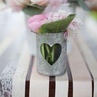 Heart-Shaped Wedding Decor
