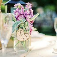 Heart-Shaped Wedding Decor