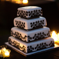 Black and White Cake