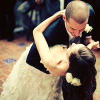 Newlyweds Dancing
