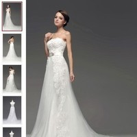 Elegant and Noble Wedding Dresses