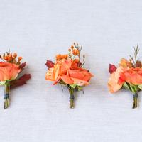 DIY: Autumn Inspired Boutonnieres