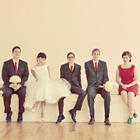 Mod Wedding Party