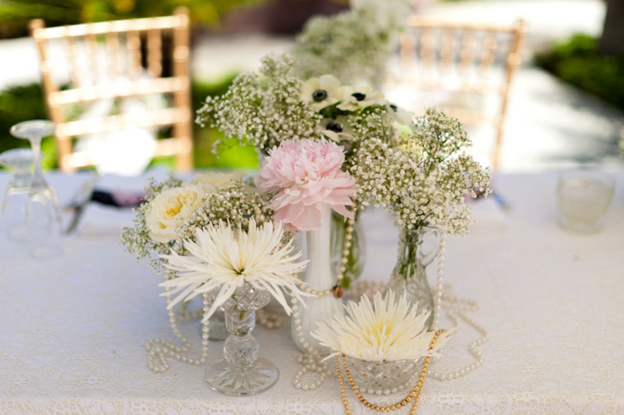 Pearl Centerpieces