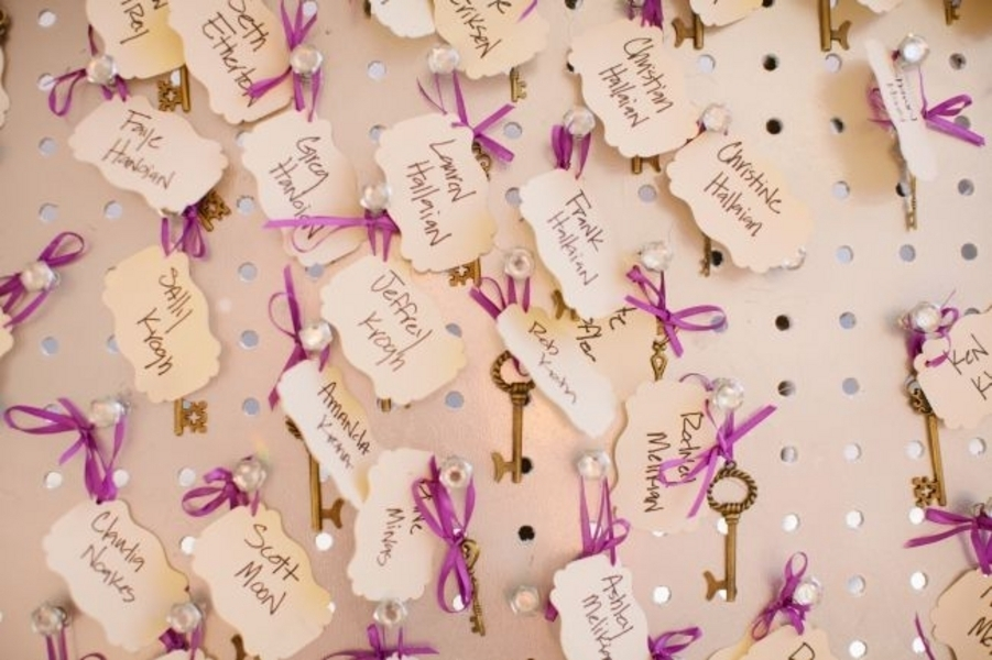 Escort Card Keys